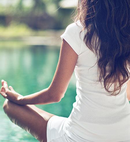Minsta stressen med yoga